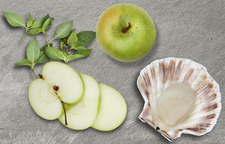 Aromen-kombinieren-Rezepte-Fisch-Apfel-Jakobsmuschel