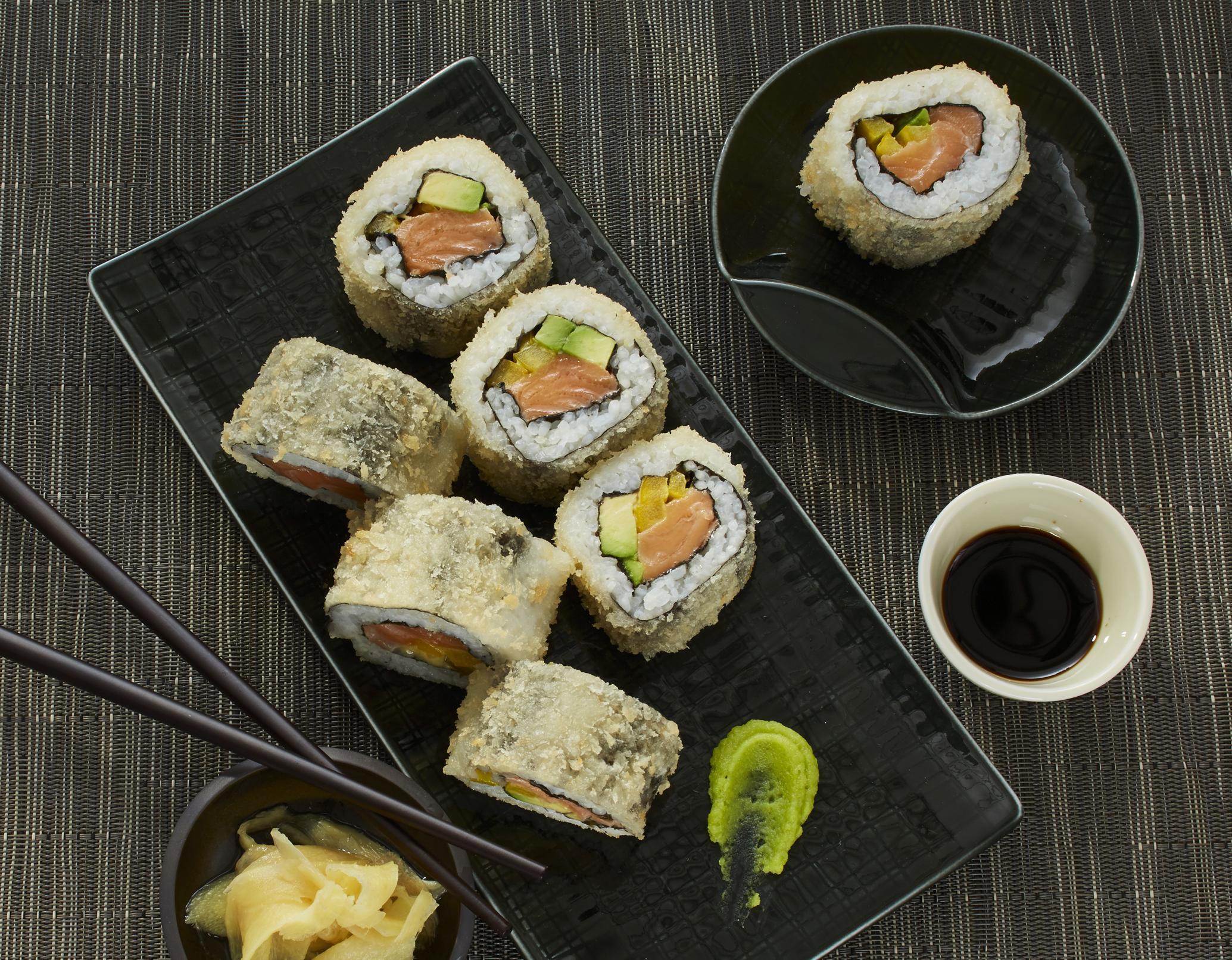 Frittiertes Sushi