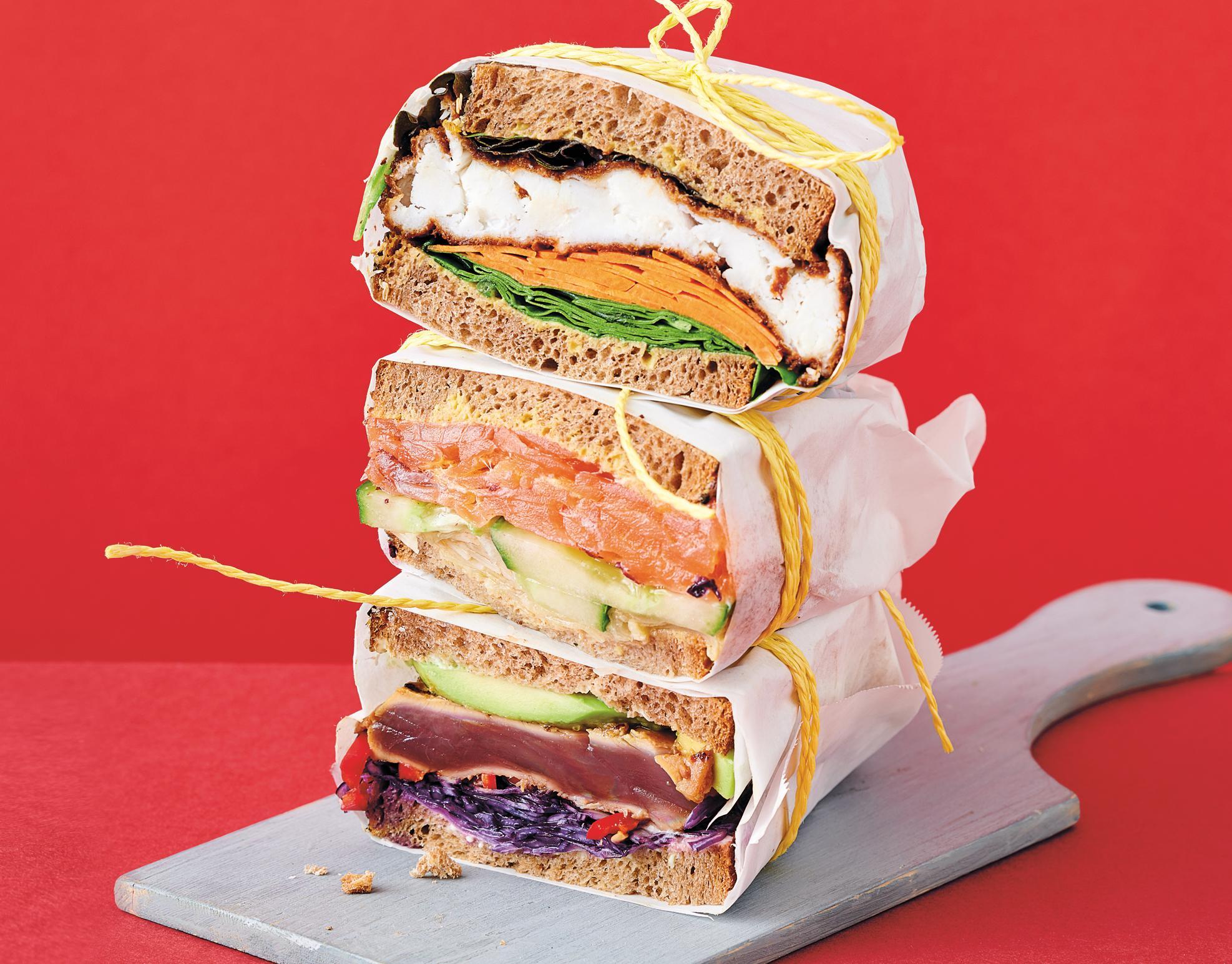 Sandwich-Trio