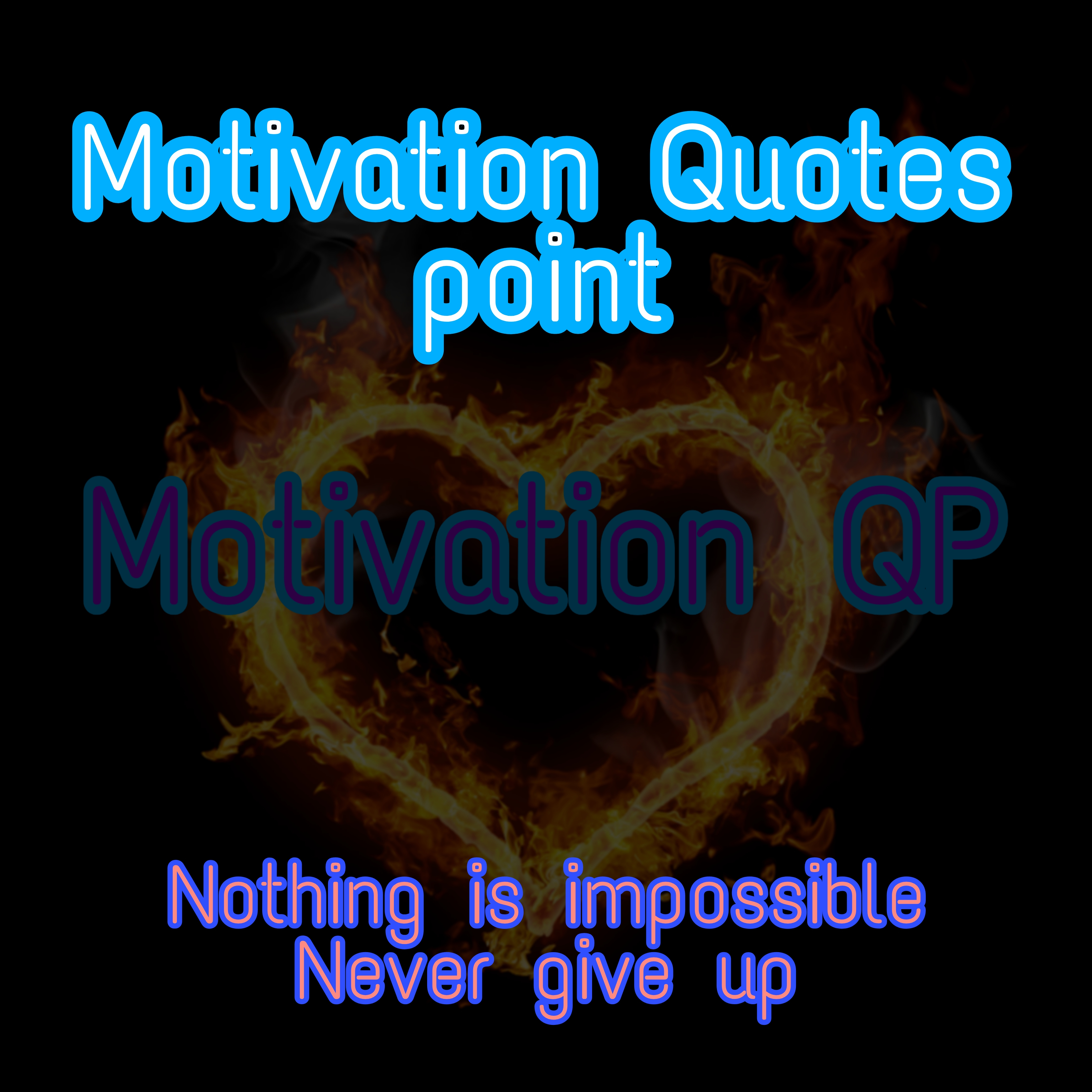 Motivation Quotes point