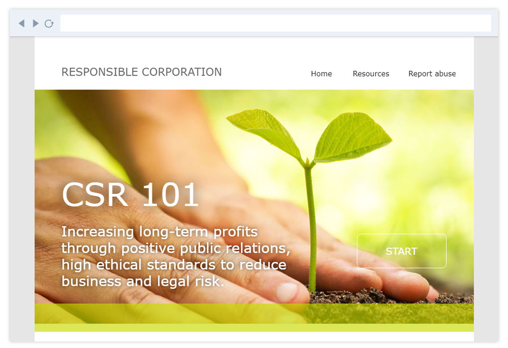 Responsible Corporation