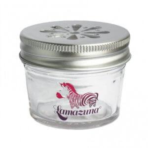Glas zur Aufbewahrung von Lamazuna