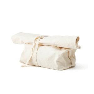 Brotsack wiederverwendbarer Brotbeutel aus Hundertprozent Baumwolle
