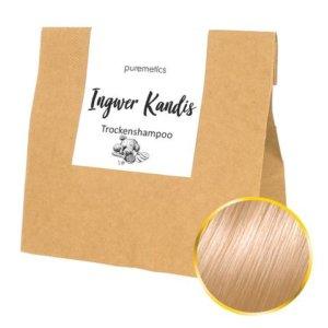 Trockenshampoo Ingwer Kandis Nachfuellpackung Puremetics