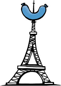 Eiffel Tower Sausage