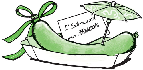 Extrawurst für Francois