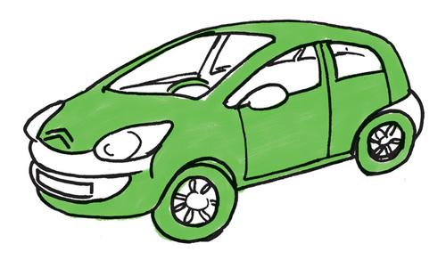 Französisches Auto