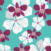 Dzianina PUL – Kwiaty