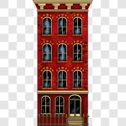 Village Townhouse Red