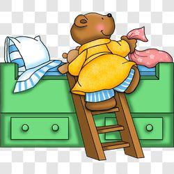 Bear Bedtime Bed