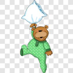 Bear Bedtime Falling