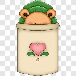 Bear Baby Peekaboo