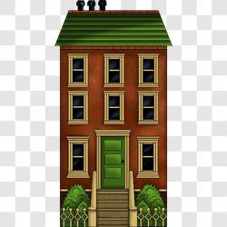 Village Townhouse Rust