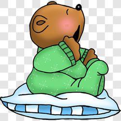 Bear Bedtime Baby Yawns