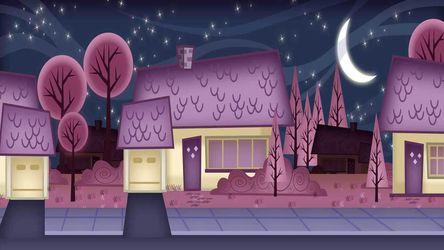 halloween  night street