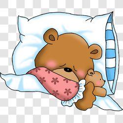 Bear Bedtime Girl