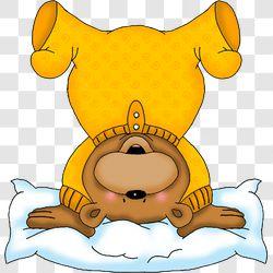 Bear Bedtime  Handstand