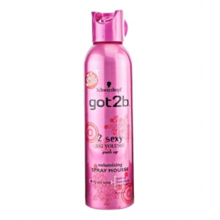 Got2be 2 Sexy Big volume Spray Mousse