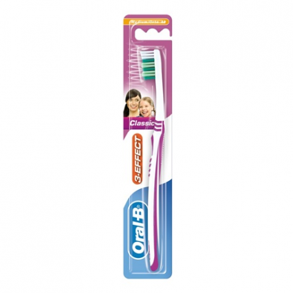Oral-B 3-Effect Classic Tandbørste Medium