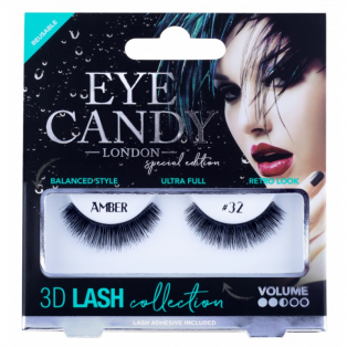 3D Lashes 32 Amber