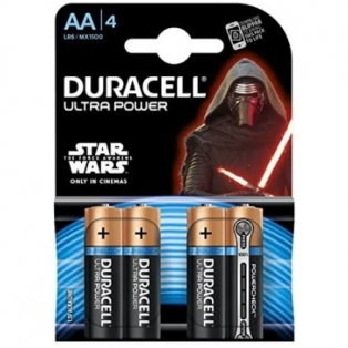 AA Star Wars Ultra Power Batterier
