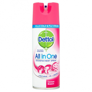 All in One Disinfectant Spray Orchard Blossom