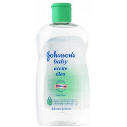 Johnson's BABY OIL ALOE VERA