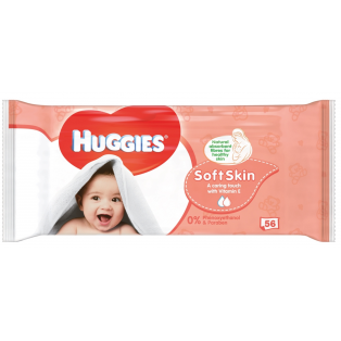 Baby Wipes Soft Skin