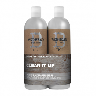 Bed Head Clean Up Shampoo & Conditioner Duo
