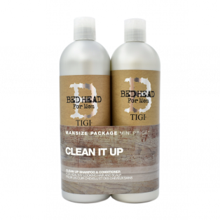 Bed Head For Men Clean Up Shampoo & Conditioner Duo
