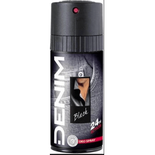 Black Deo Spray 24 Hours Action