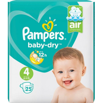 Pampers Bleer str 4.  9-14 kg.