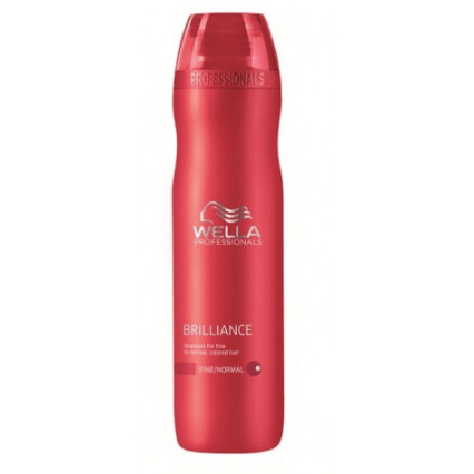 Wella Brilliance Color Shampoo Fint Hår