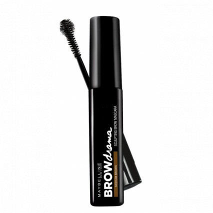 Maybelline Brow Drama Sculpting Mascara Medium Brown