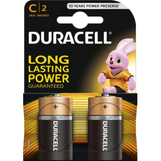 C 2 Batterier Long Lasting Power