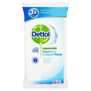Cleansing Surface wipes