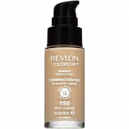 Revlon Colorstay Foundation Combination/Oliy Spf 15 Med Pumpe Buff/Chamois 150