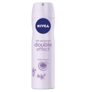 Double effect violet senses deodorant spray