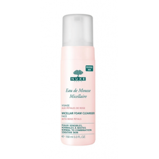 Eau De Mousse Micellar Foam Cleanser with Rose Pet