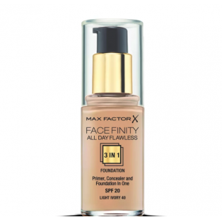 Facefinity All Day Flawless 3 In 1 Foundation 40