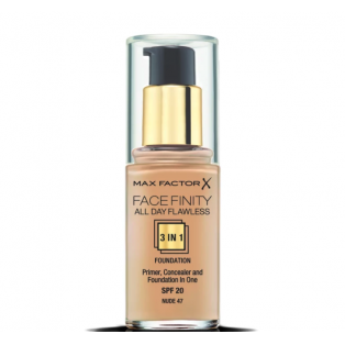 Facefinity All Day Flawless 3 In 1 Foundation 47