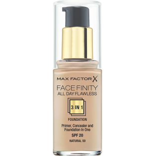 Facefinity All Day Flawless 3 In 1 Foundation 50