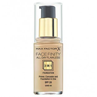 Facefinity All Day Flawless 3 in 1 Foundation 60 Sand
