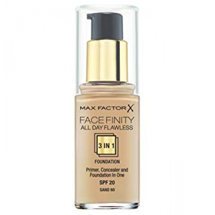 Max Factor Facefinity All Day Flawless 3 in 1 Foundation 60 Sand