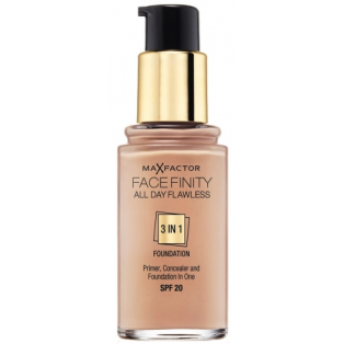 Facefinity All Day Flawless 3 In 1 Foundation 65
