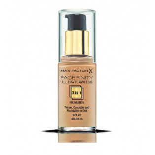 Facefinity All Day Flawless 3 In 1 Foundation 75