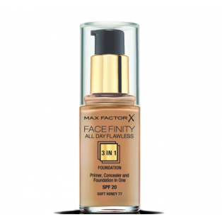 Facefinity All Day Flawless 3 In 1 Foundation 77