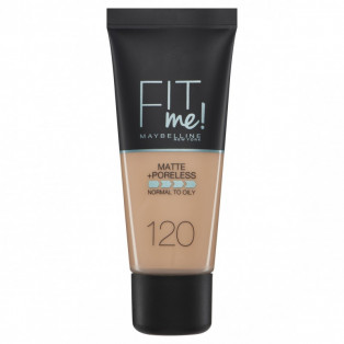 Fit Me Matte +Poreless Foundation 120 Classic Ivory