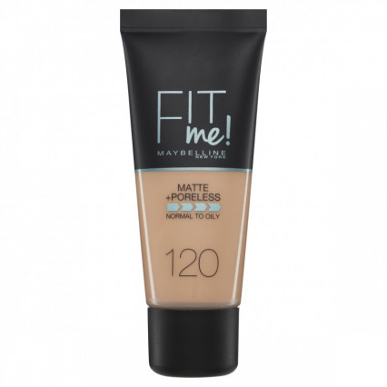 Maybelline Fit Me Matte +Poreless Foundation 120 Classic Ivory