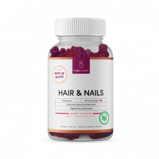 Hair & Nails Vitaminer Berry Flavour